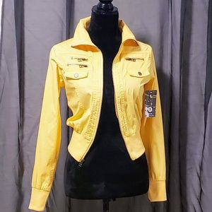 Active USA Jackets & Coats - Active USA Yellow Light Weight Jacket size S 🆕🦄
